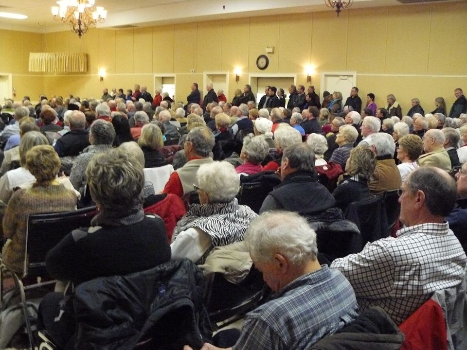 Rally in support of the Admiral Collingwood development