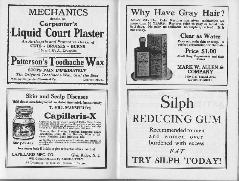 1927 ad page