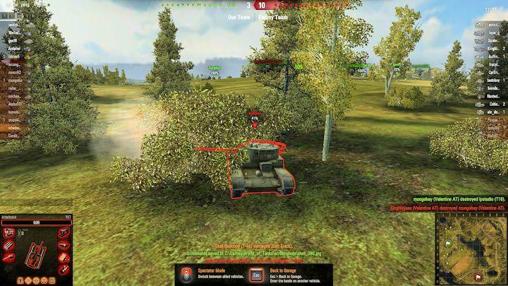 enemy tank