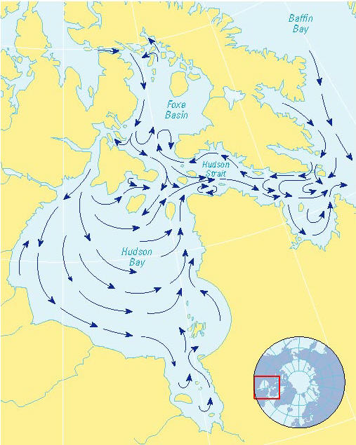 henry hudson s fourth voyage 1610 the northwest passage
