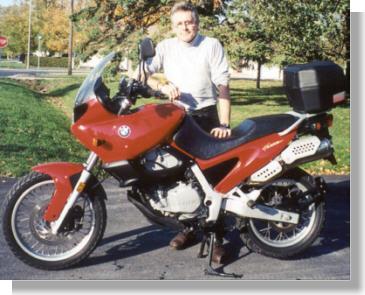 Ian Chadwick S Bmw F650