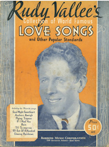 Rudy Valle's Love Songs