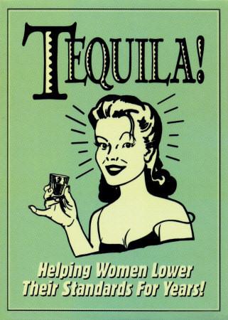 Текила - прекрасный напиток как для мужчин, так и для женщин.