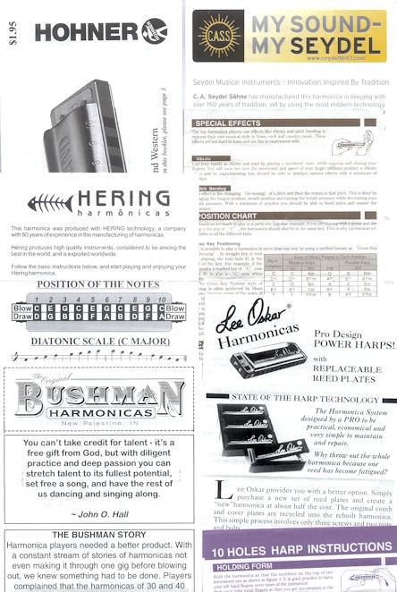 Harmonica chromatic harmonica tabs : Ian Chadwick's harmonica reviews